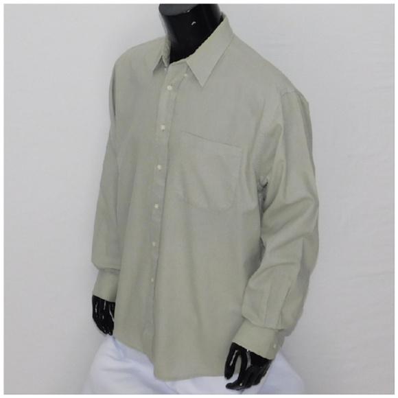 *MEN* KASPER, Button up Shirt, size Large 16.5